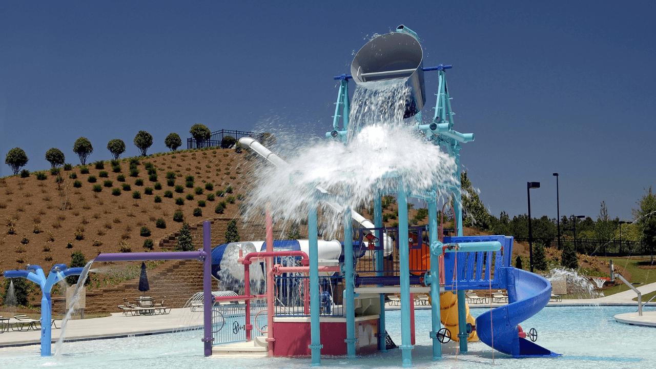 פארק המים לילדים בדובאי